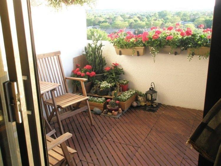 #Gartenterrasse Holzböden: 50 Ideen Für Den Balkon #neu #art #garten #