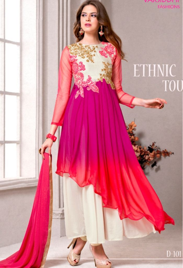 Product Code 101 Weight 3 KGS Delivery Days 15 Days Top Georgette ...