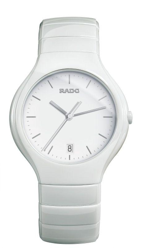 Catálogo de relojes Rado de cerámica  Relojes Rado True de cerámica blanca  (115 0695 3 002) 12d365bcf4b9