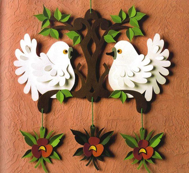 Handmade Kursy Wzory Tutoriale Wielkanocne Ozdoby Z Papieru
