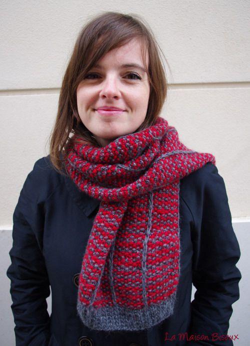 Vídeo explicativo: cómo tejer una bufanda de punto | La Maison Bisoux