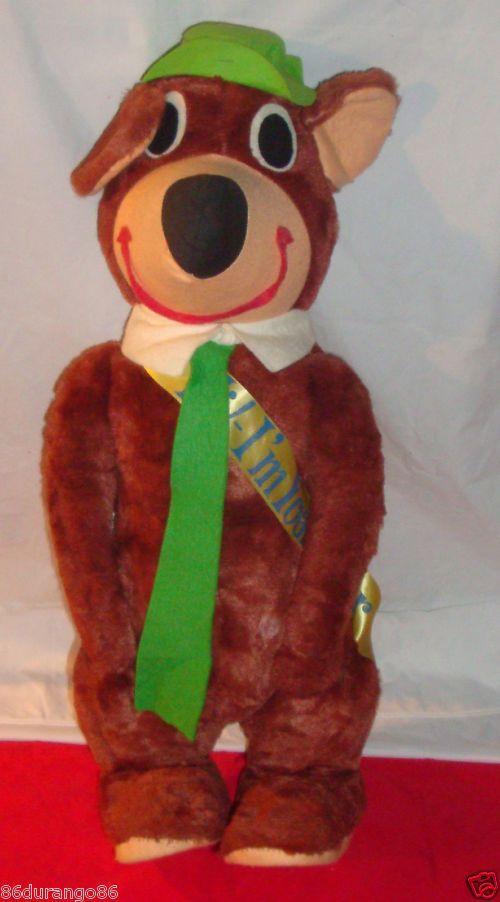 Animation Stuffed Animals 1950 S Yogi Bear Stuffed Animal