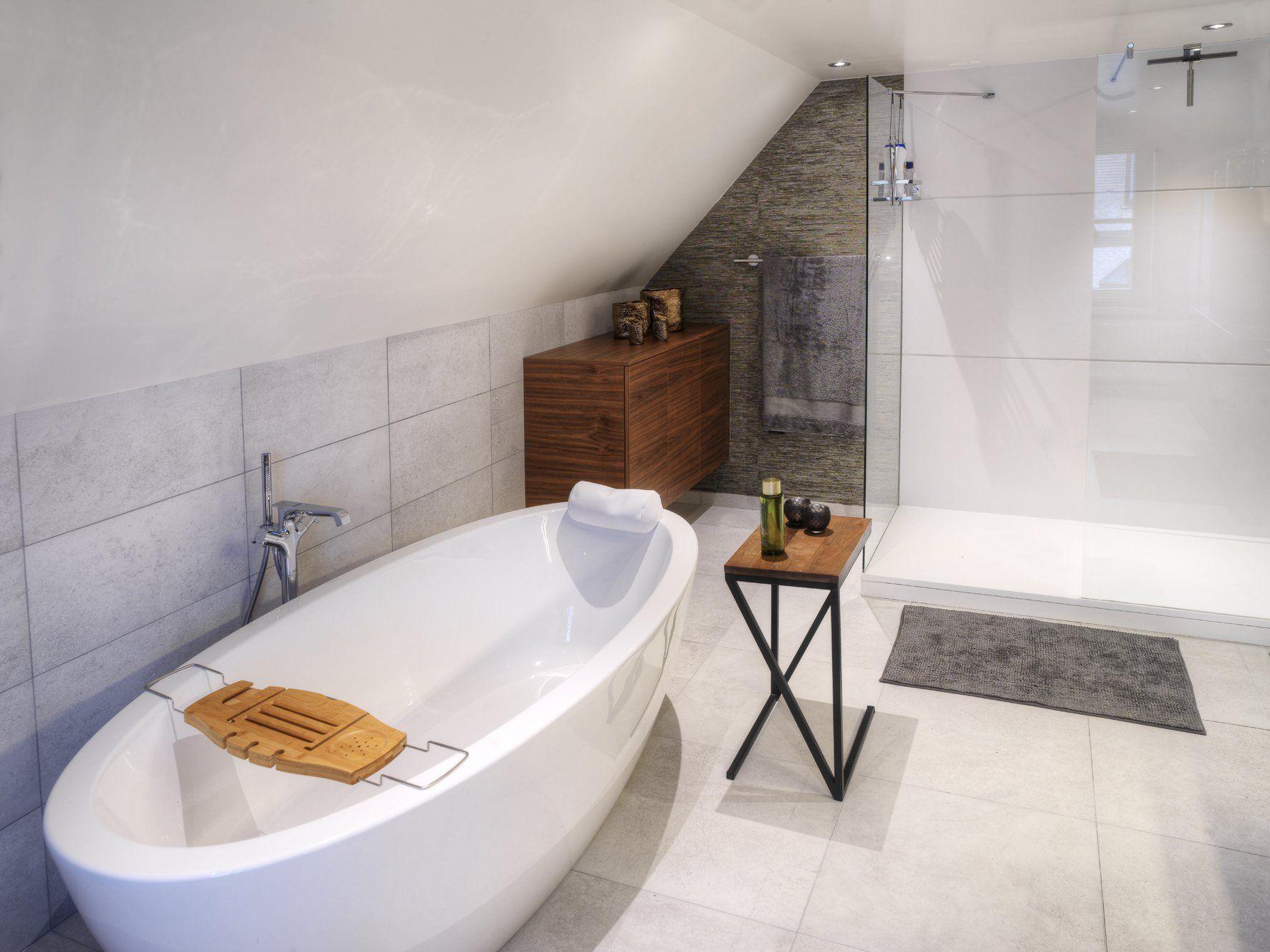 Modern bathroom designed by Dzignstone Shower in