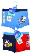 Boys Disney Mickey Mouse Swim Boxer Trunks 3 to 8 Years