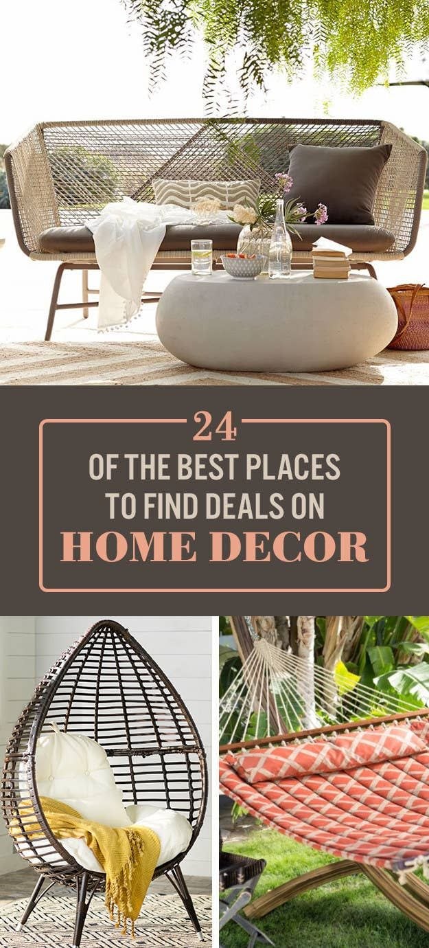 23 Online Stores With The Best Deals On Home Decor