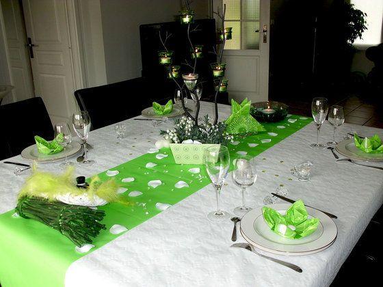 13 ans de mariage noces de muguet deco de table avec th me no l p ques anniversaire. Black Bedroom Furniture Sets. Home Design Ideas