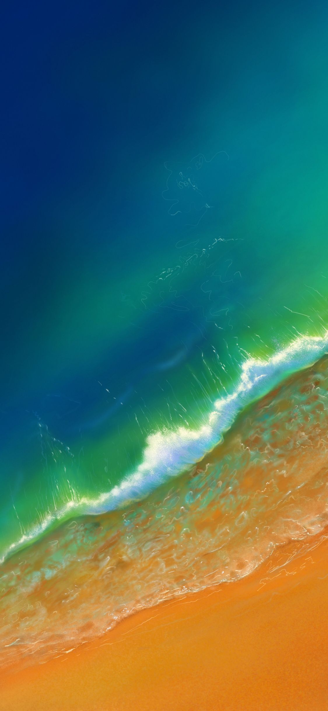 Download 1152x864 Wallpaper Green Ocean Sea Waves Aerial View Beach Iphone X 1125x2436 Hd Image Backgrou Ocean Wallpaper Beach Phone Wallpaper Green Ocean