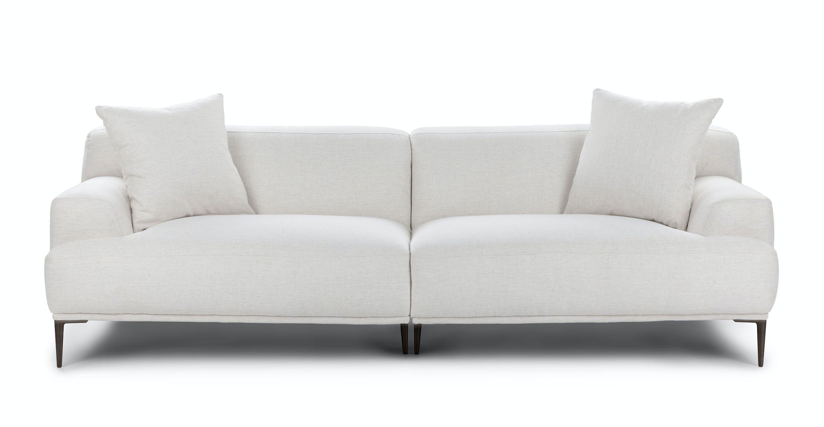 Abisko Quartz White Sofa In 2020 Contemporary Decor Living Room