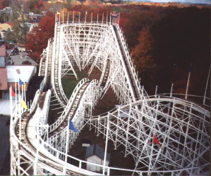 Thunderbolt At Six Flags New England In Agawam Massachusetts The