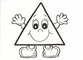 triangle coloring page - Triangle Instrument Coloring Page