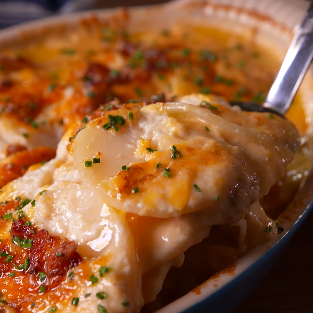 Loaded Scalloped Potatoes