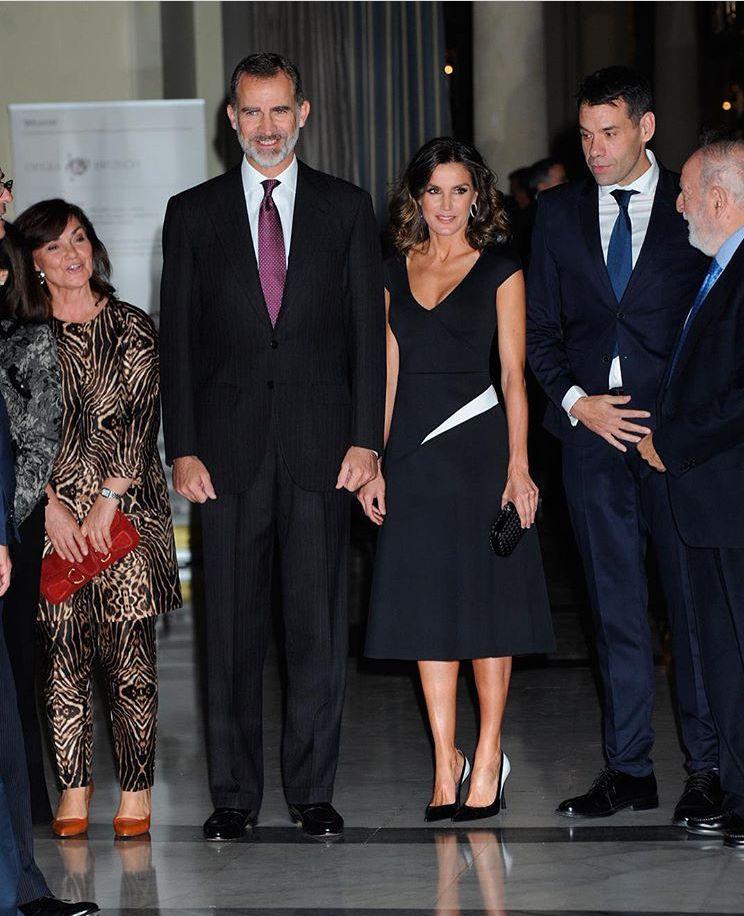 Winner Fashion Journalist Of The Year: King Felipe VI Of Spain And Queen Letizia Of Spain