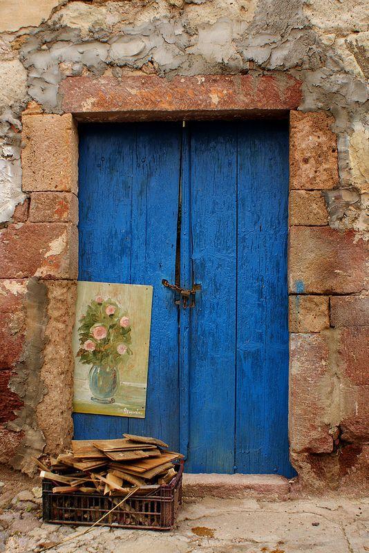 Blue Door (tra i vicoli di Bosa) | Flickr - Photo Sharing!