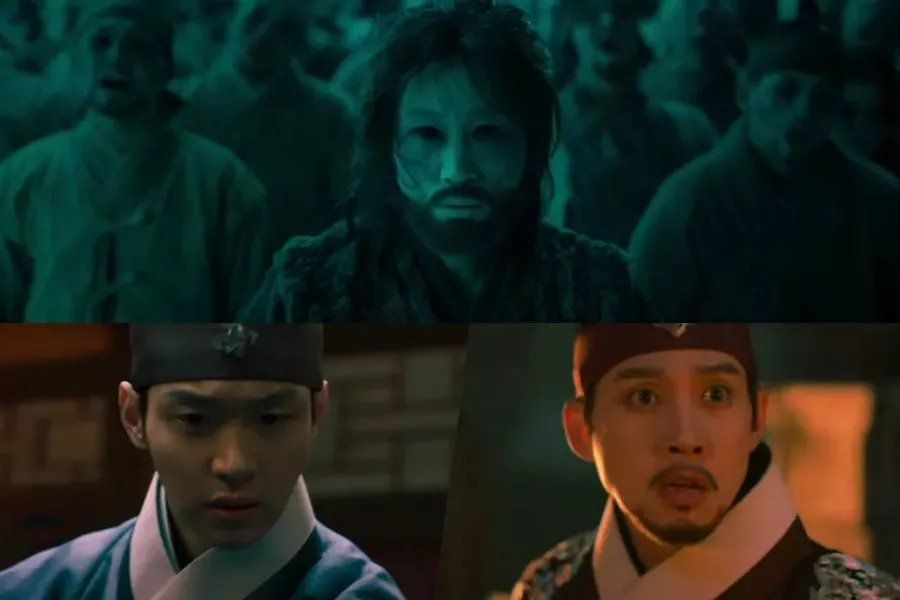 "Watch: Jang Dong Yoon And Kam Woo Sung Are Determined To Defeat The Undead In Haunting New Teaser For ""Joseon Exorcist"""