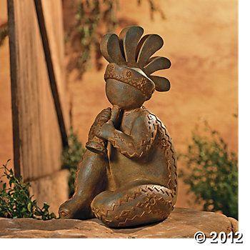 Kokopelli Yard Statue I Want One Of These Please