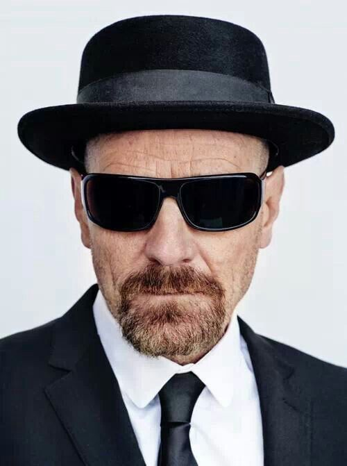 Breaking Bad, Walther White (starring ?), nice hat ...