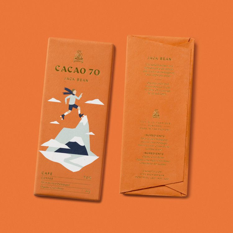 Cacao 70 In Good Company Logo Inspiration Branding Brand Strategy Candy Packaging
