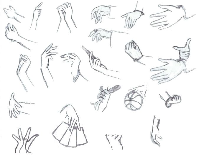 Anime Hand