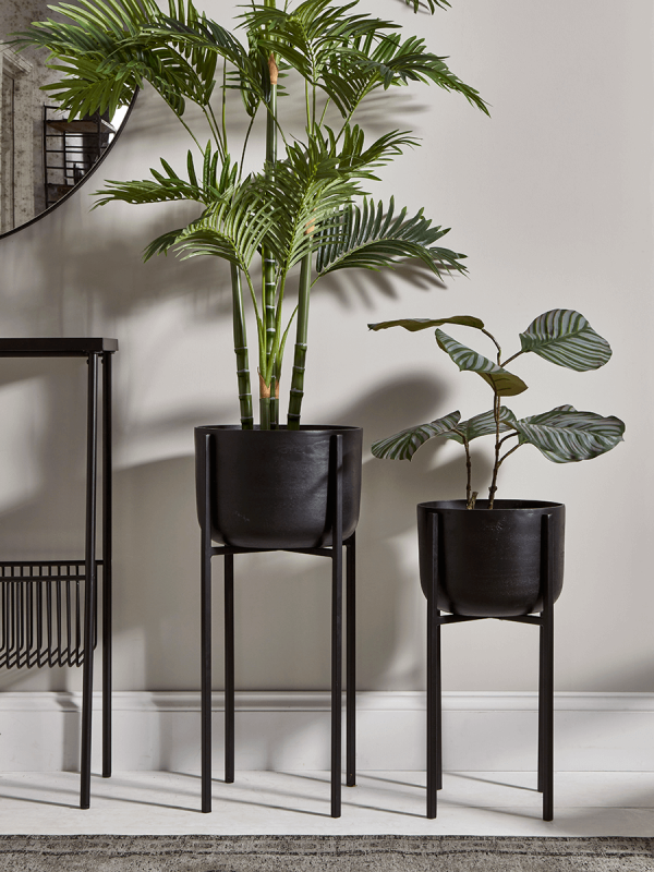 Luxe vs. Less: Plant Holders