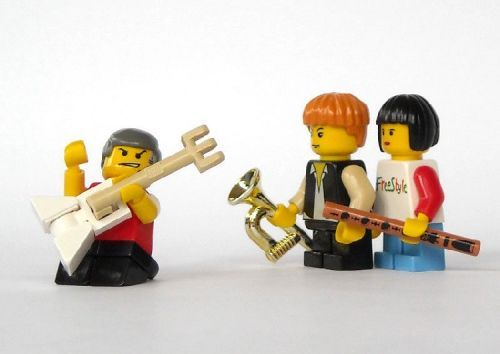 Musical Instruments: A LEGO® creation by Michael Jasper : MOCpages.com