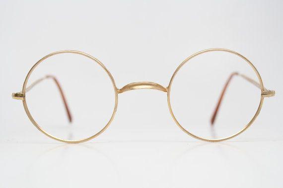 Vintage Armani Glasses Frames : Giorgio Armani Round Gold Vintage Glasses 1980s by ...