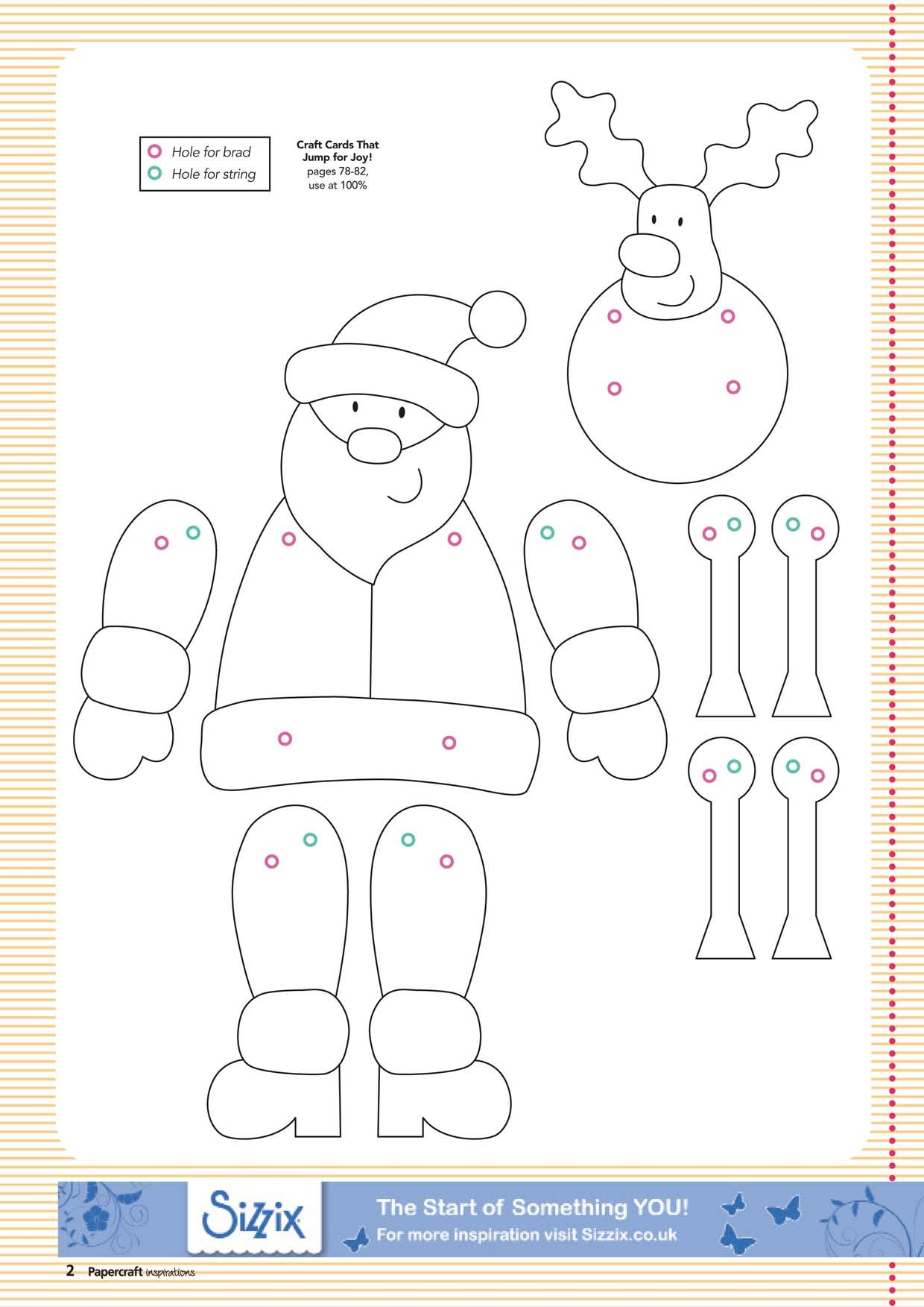 Printable Christmas Crafts That Are Sly