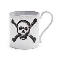 John Derian for Astier De Villatte Skull & Bones Mug