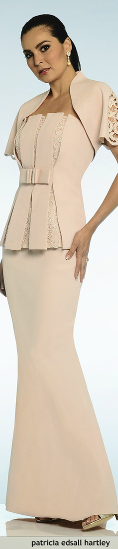 Nude gown - great detail