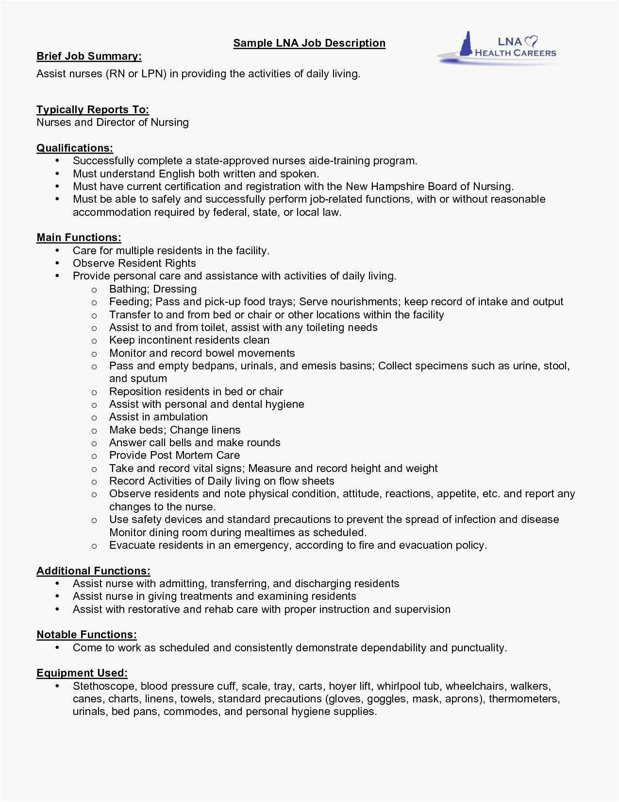 67 New Collection Of Resume Profile Examples For Rn