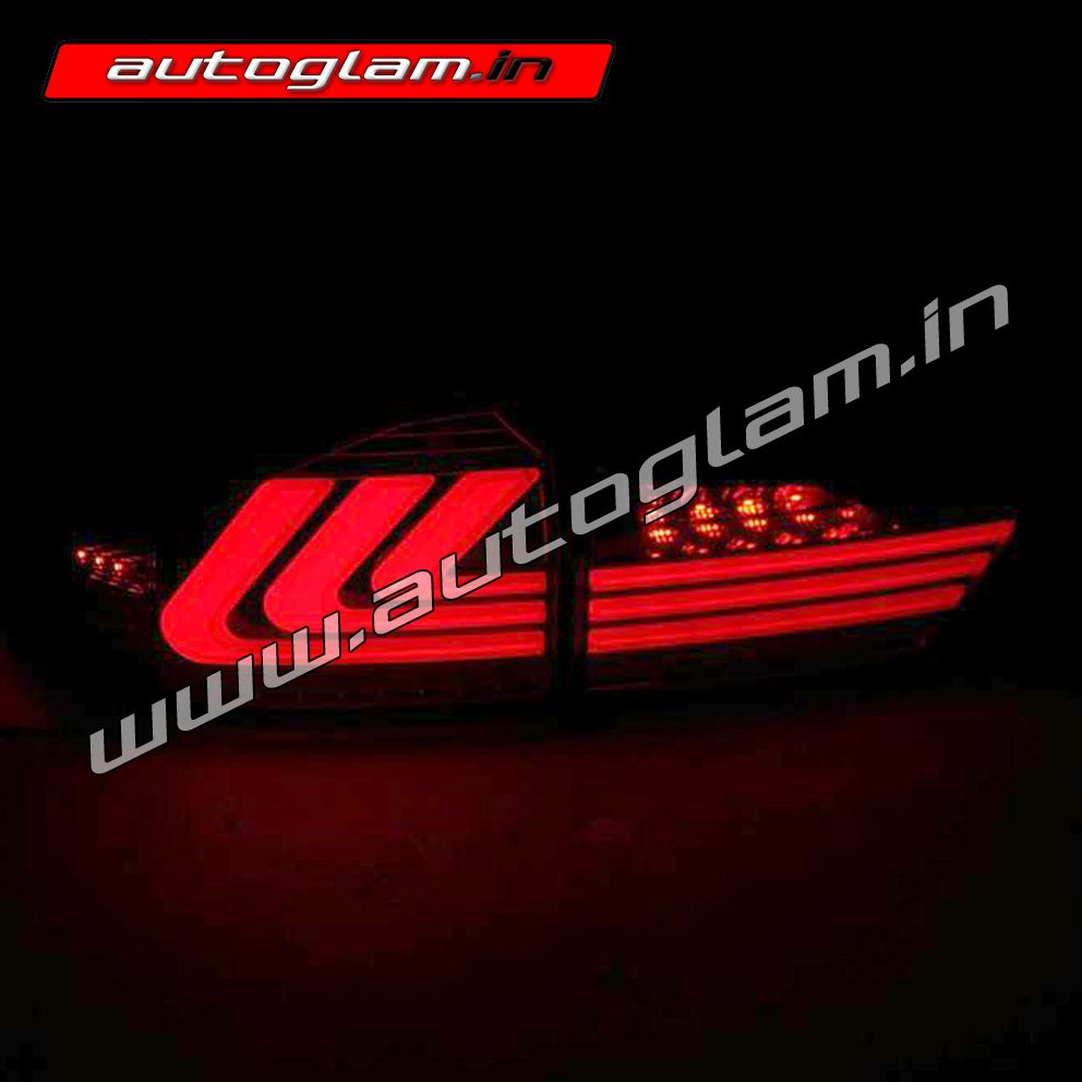 """""""Add awesome look to your HONDA City 2014-16 Lexus Style LED Tail Lights with Matrix Indicator  Buy Now: http://www.autoglam.in/honda-24/city-251/aghctl07led-autoglam-led-taillights-for-honda-city-idtec  For query feel free to call/ whatsapp us: +91-9953583123  #hondacity #hondacityledtaillight #hondacitytaillight #hondacitylights #taillightassembly #hondacitymodifiedtaillight #taillight #taillamp #taillights"""""""