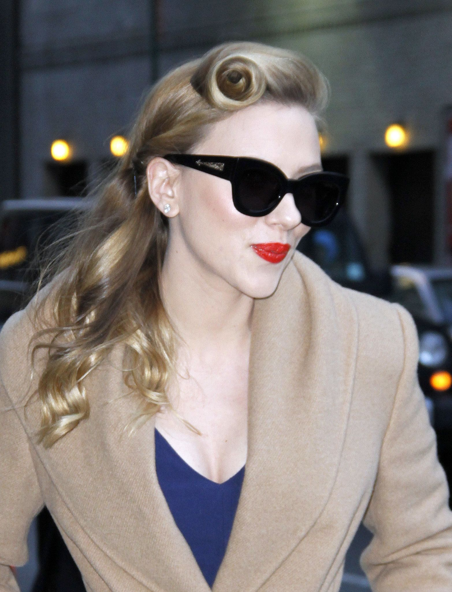 Scarlett Johansson, January 2014