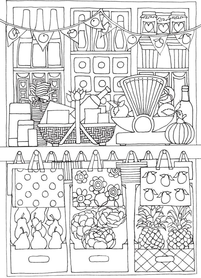 BLISS Shop Coloring Book Your Passport To Calm