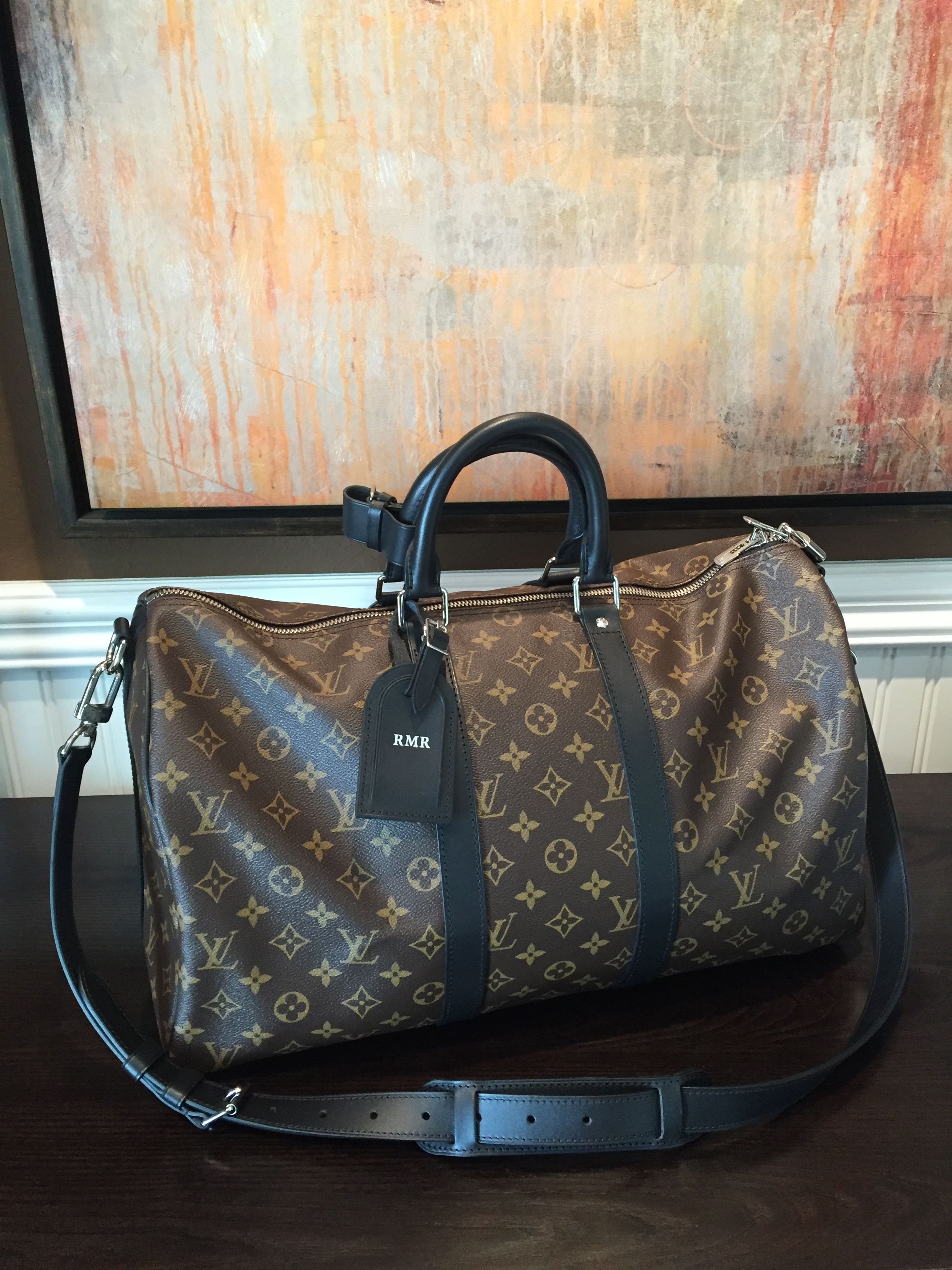 5cee1593bb28 My LV Keepall 45 macassar