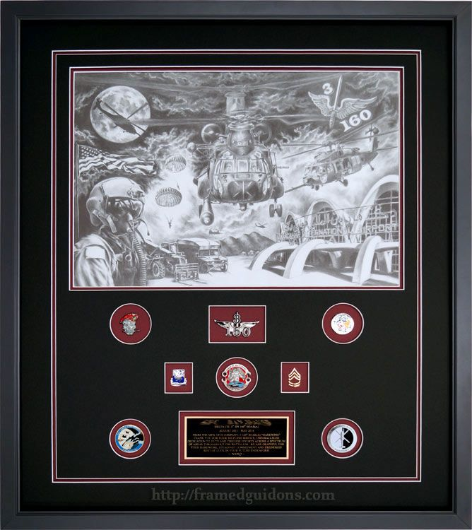 Gallery - Custom Framed Military Prints and Photos | Challenge coins ...