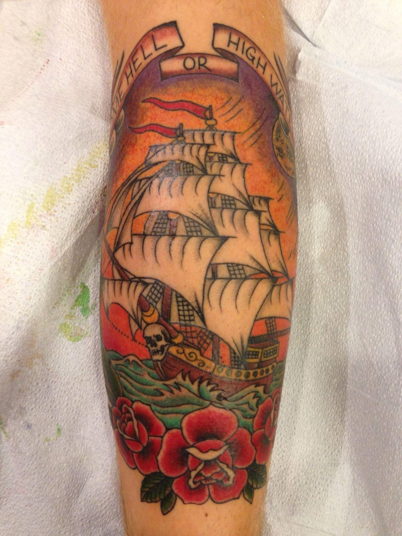 By josh fallon at big top tattoo in utica mi club