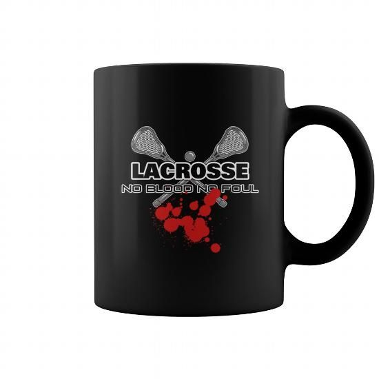 Awesome Tee Mug Lacrosse No Blood No Foul Dark Grandpa Grandma Dad Mom Girl Boy Guy Lady Men Women Man Woman Sport Coach Player T shirts