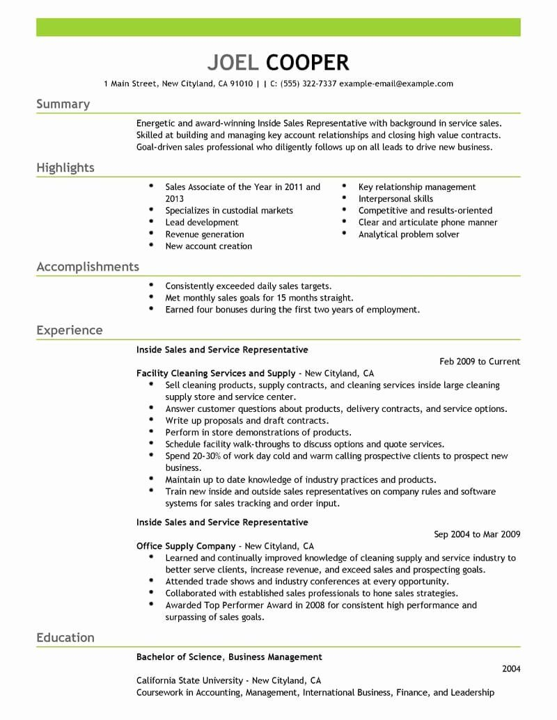 23 Sales Rep Resume Example in 2020 Sales resume