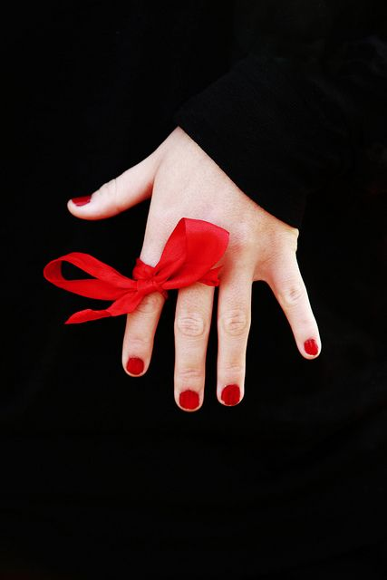 Remember a special day - Red Ribbon