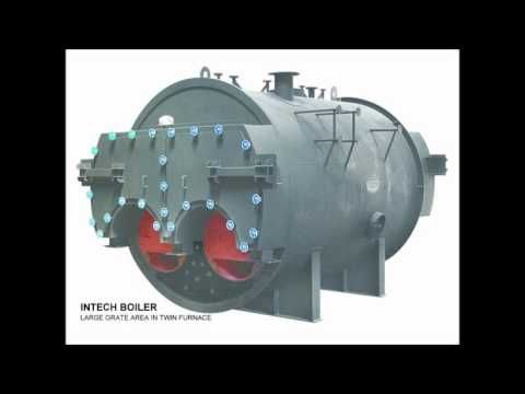 Intech boiler - Three Pass Internal Furnace Packaged Type Boilers ...