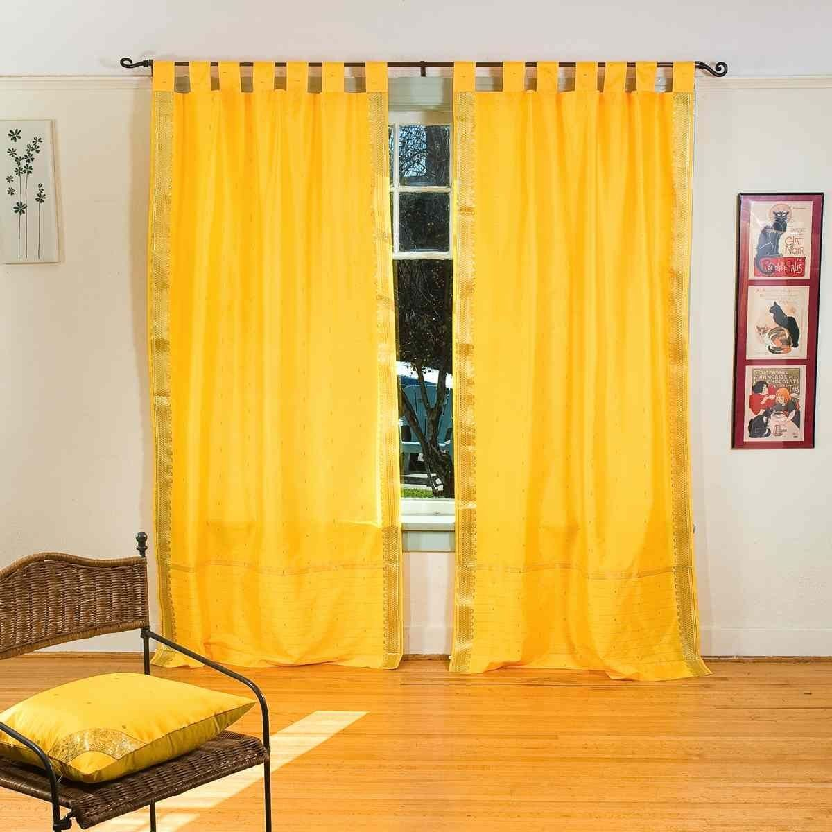 Sheer yellow curtains - Sheer Yellow Curtains Indian Sari Curtains 1000 Images About Curtains On Pinterest Feeling Fine Products