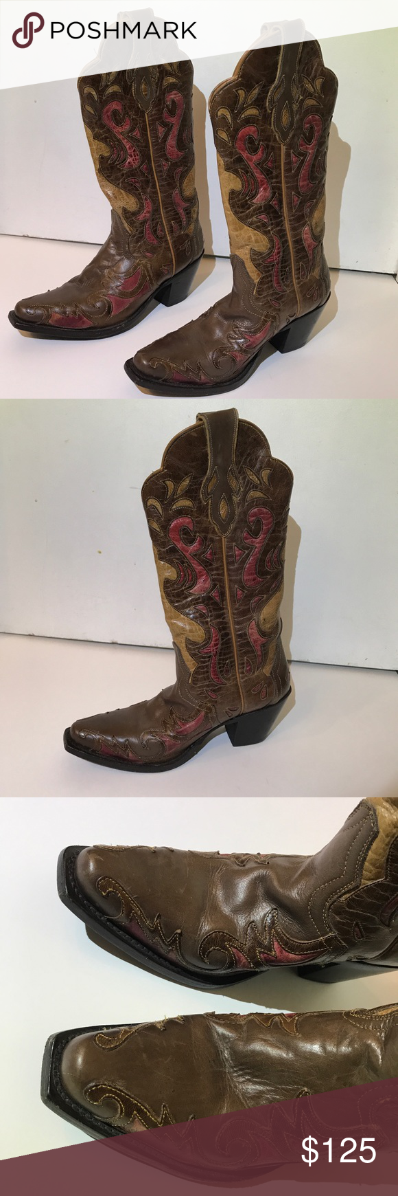 1dfdffed542 Nashville Leather Sterling River Cowboy Boots Genuine leather ...