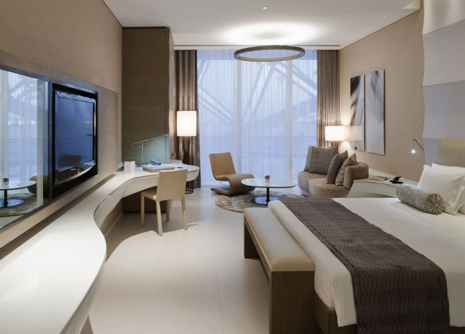 Luxury modern hotel room interior design ideas the 11 for Hotel bedroom design