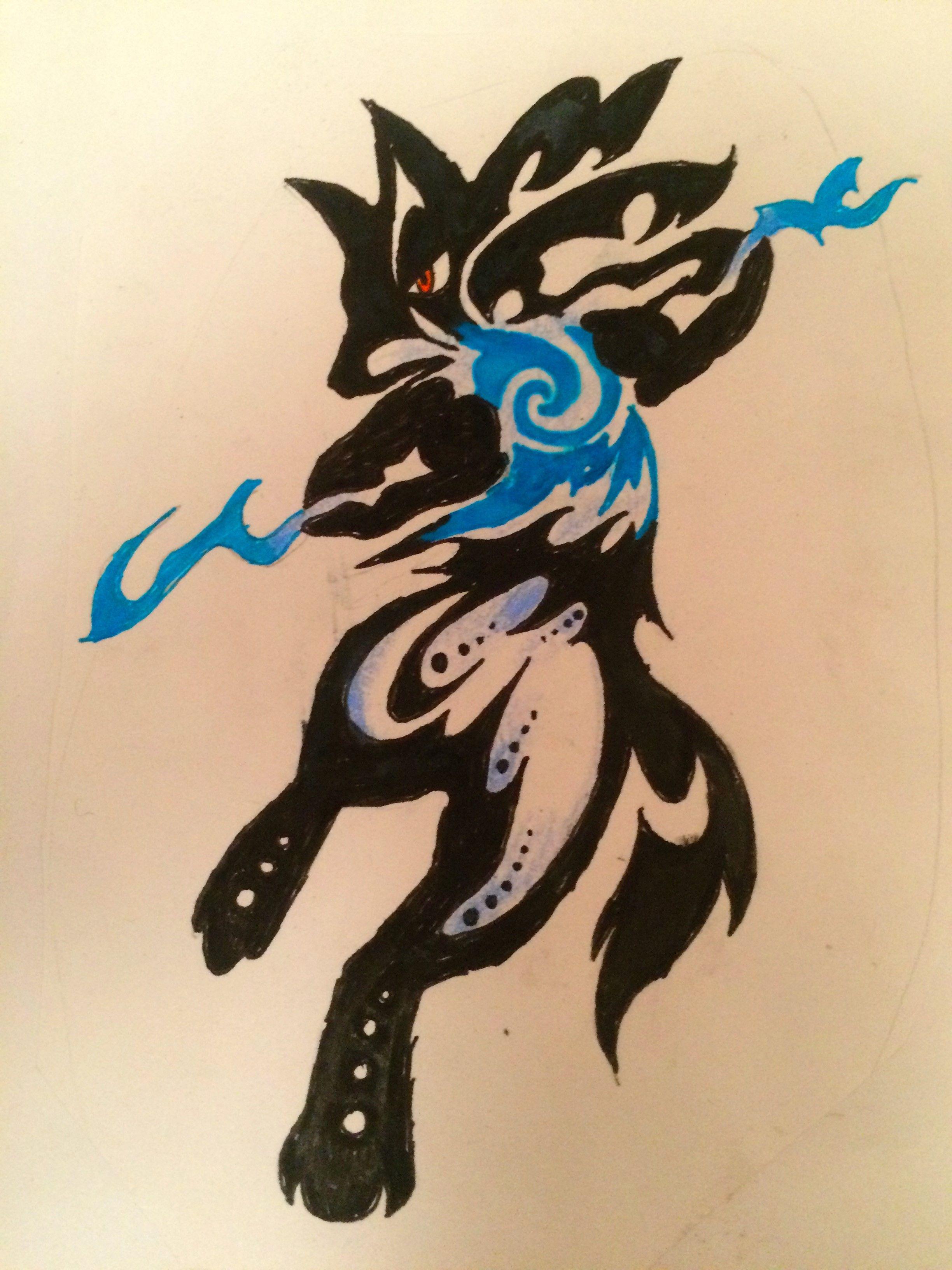 Lucario Pokemon Tattoos Pinterest Tribal Pokemon Pokémon And