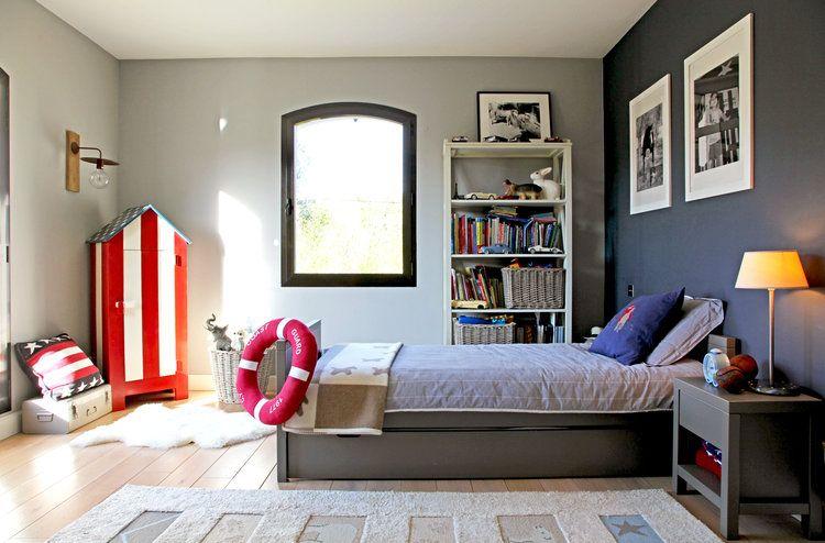 Une chambre bord de mer   Idée peinture chambre, Chambre garcon et ...