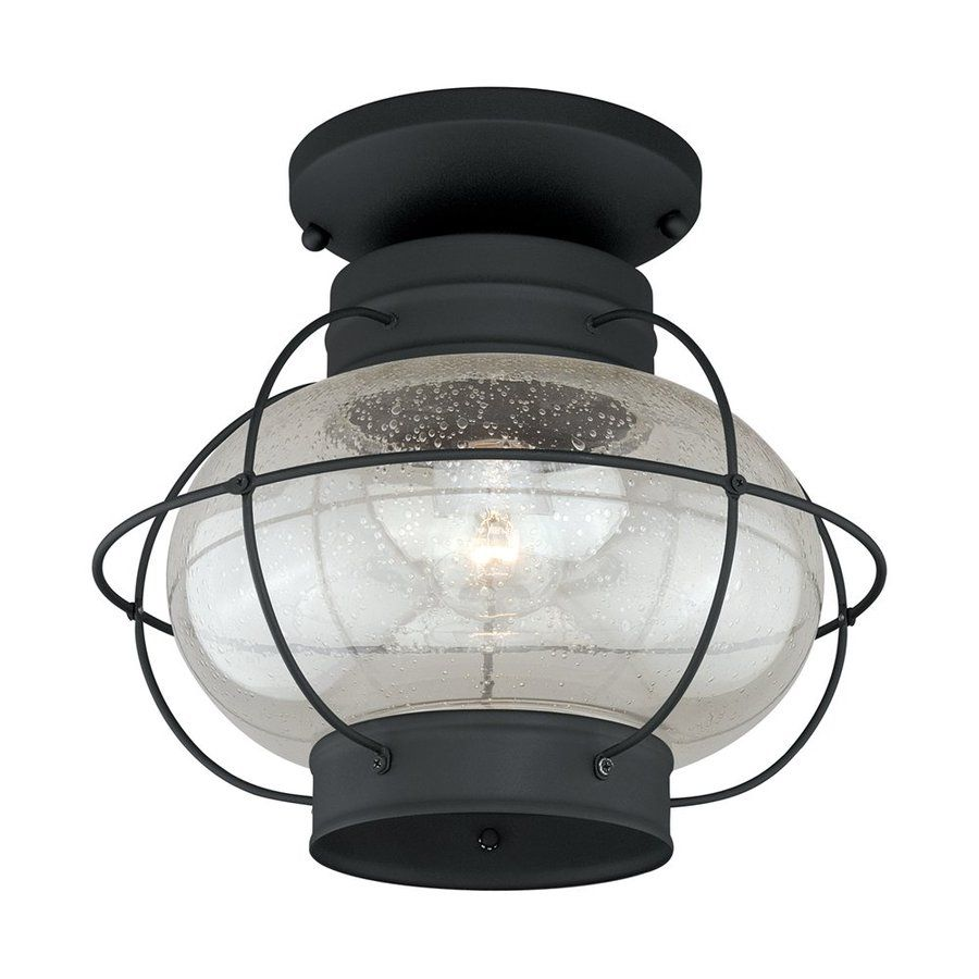 Cascadia lighting chatham 13 in w textured black outdoor flush mount cascadia lighting chatham 13 in w textured black outdoor flush mount light arubaitofo Image collections
