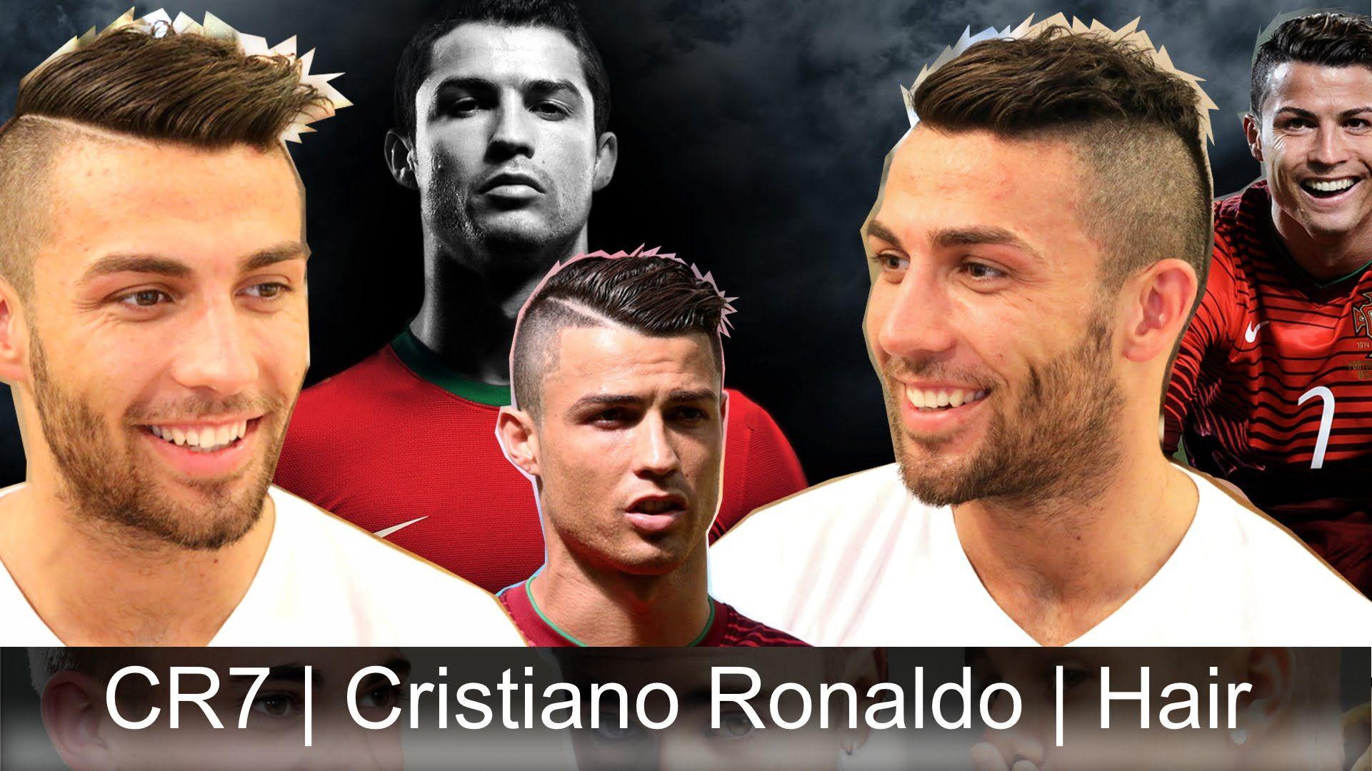 Hairstyle Like Cristiano Ronaldo CR Slikhaar TV Mens - Hairstyle like cristiano ronaldo cr7