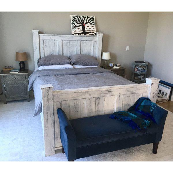 Bed Frame Wood Bed Frame Bedroom Furntiture Reclaimed Wood Bed