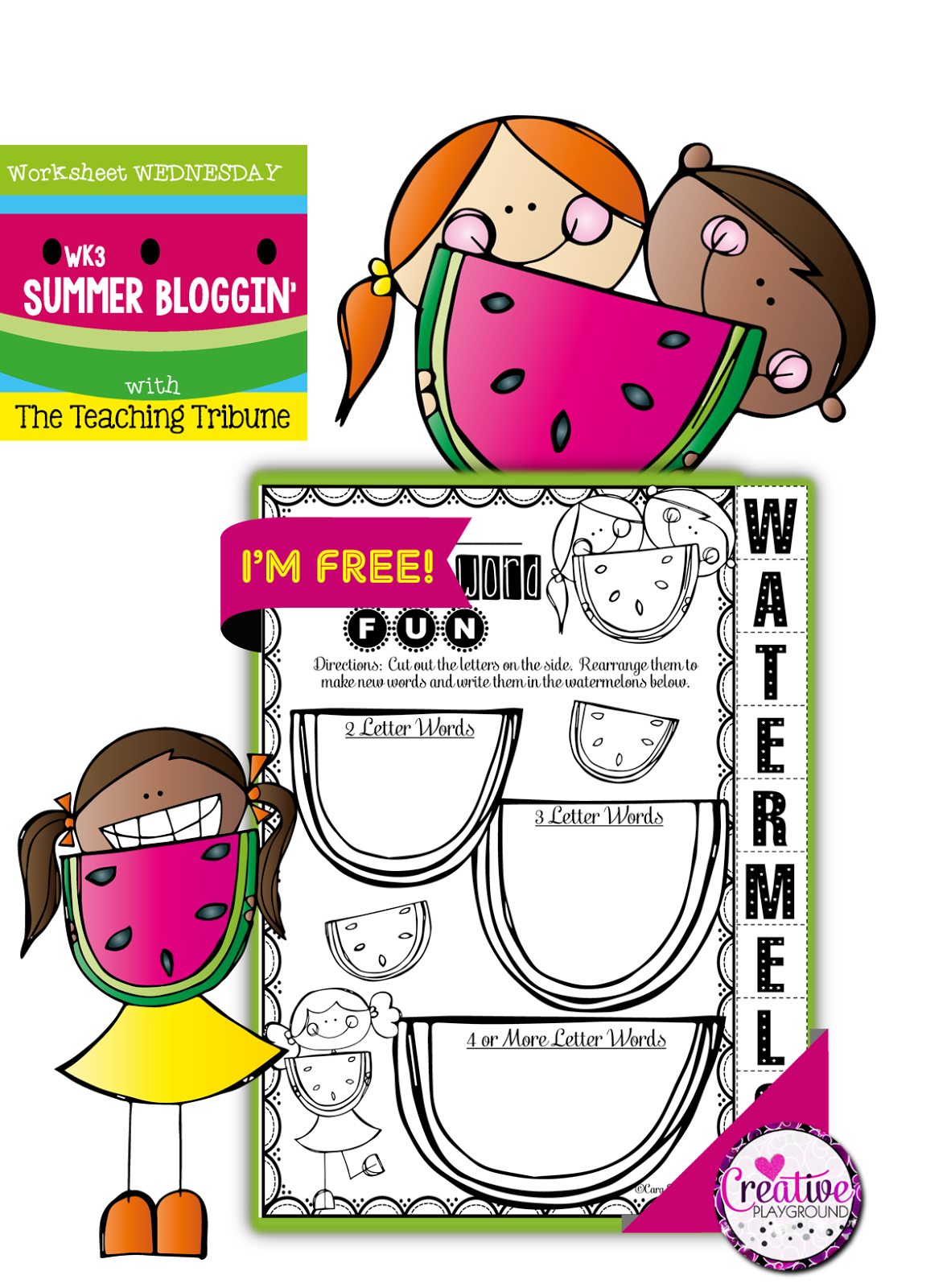 Creative Playground Free Free Free Free Kindergarten Printables Creative Playground Kindergarten Free [ 1600 x 1182 Pixel ]