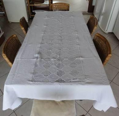 Image result for toalhas de mesa de jantar em croche