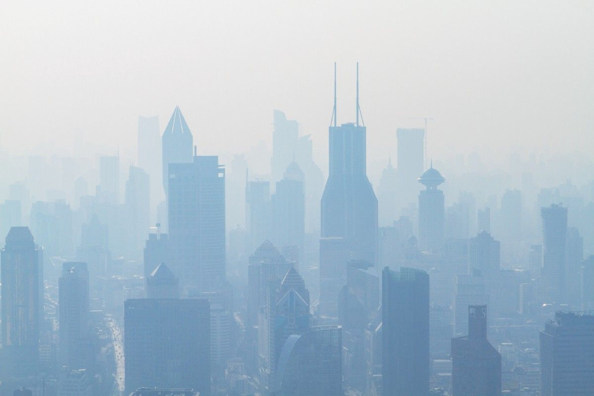 The Link Between Polluted Air And Sadness Pollution Air Pollution Air Quality